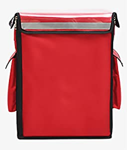 Pizza Delivery Bag,Large Insulated Lunch Bag,Reusable Foldable Ice Bags,Waterproof Oxford Cloth Takeaway Box,for Food Warmer Transport