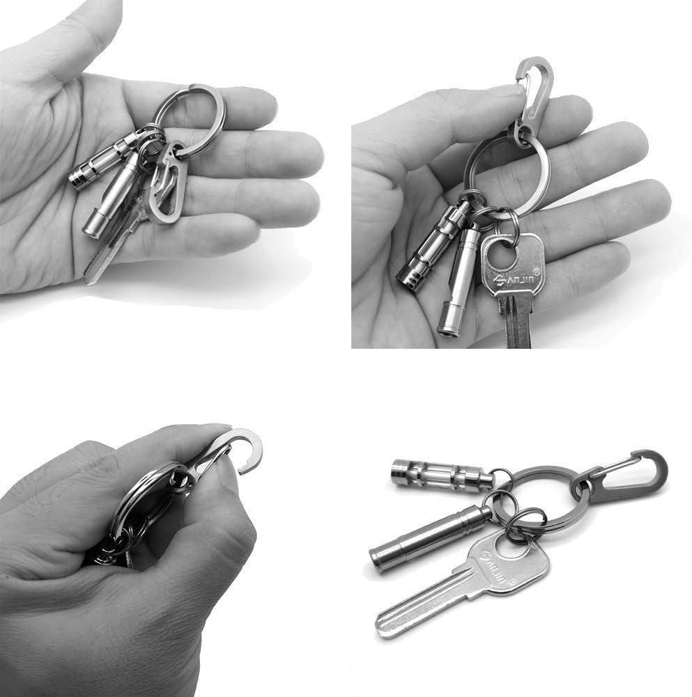 23A8 2017 Keychain Outdoor Detachable Waist Clip Quick Release Portable EDC
