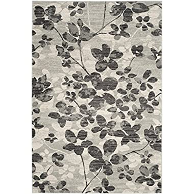 Safavieh Evoke Collection EVK236R Grey and Black Area Rug (5'1  x 7'6 )