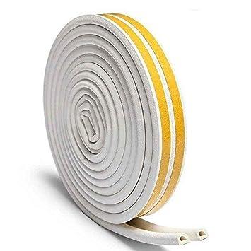 SPECOOL - Cinta de goma para sellar la intemperie, cinta de espuma de polietileno expandido