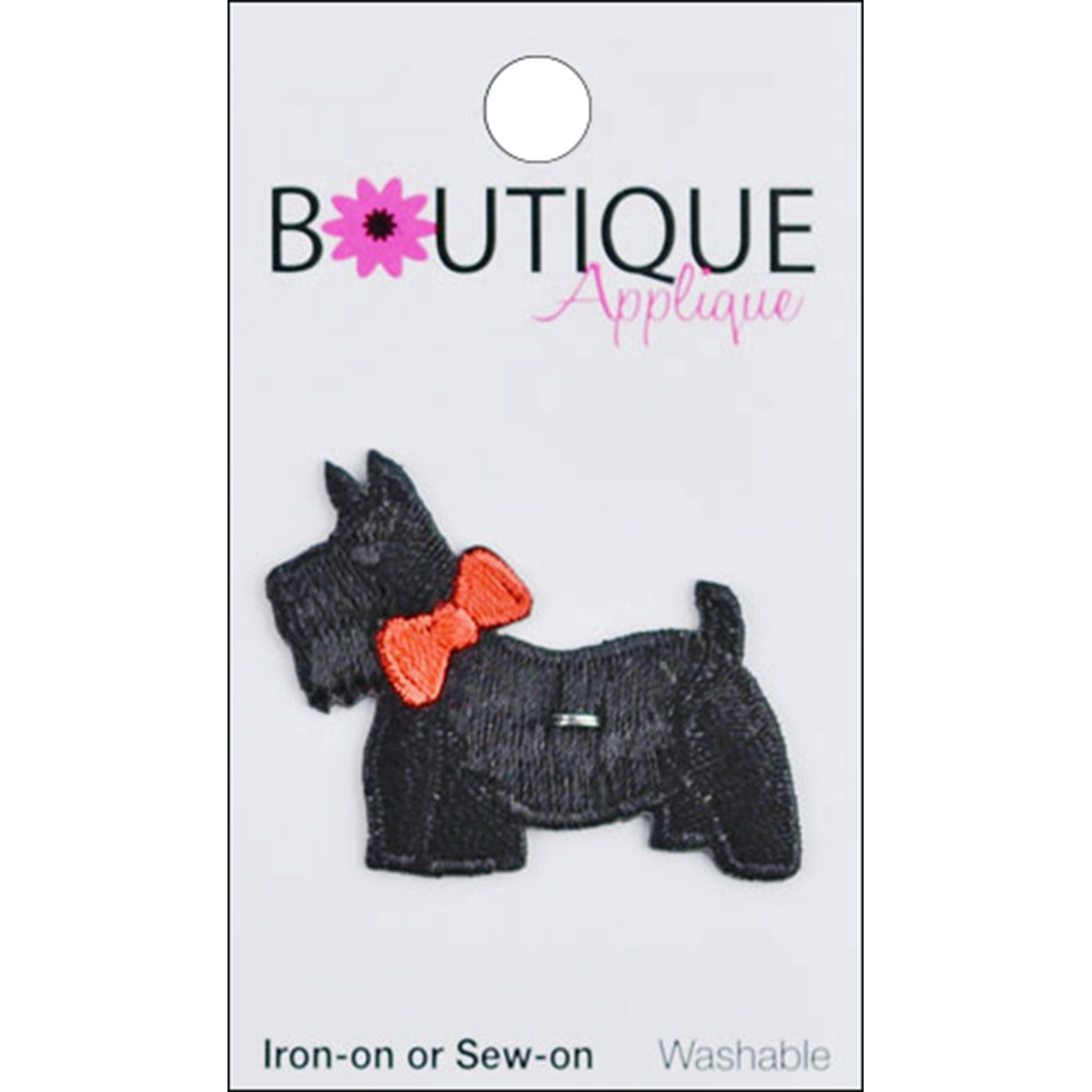 Iron-On Appliques-Scotty Dog 1/Pkg by Blumenthal Lansing