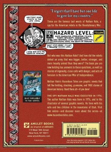 Nathan Hale's Hazardous Tales: One Dead Spy by Amulet Books (Image #1)