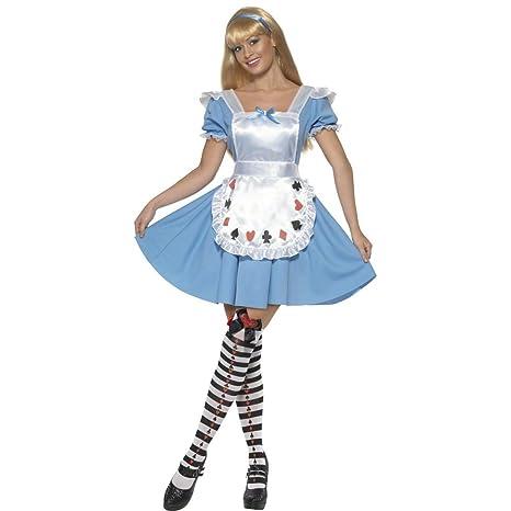 scegli autentico volume grande gamma molto ambita di NET TOYS Costume da Alice nel Paese delle Meraviglie fiaba ...