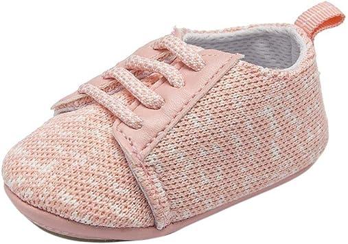 Chaussures bébés Enfants Garçons Filles,Xinantime Nouveau né Bébé Bébé Garçons Filles Crib Prewalker Semelle Souple Anti dérapant Chaussures