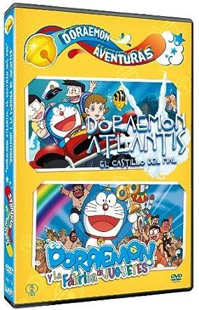 Pack Doraemon Aventuras: Atlantis + La Fábrica De Juguetes DVD ...