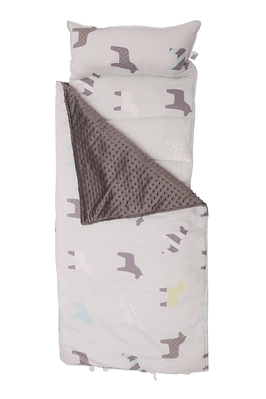 YE 2 en 1 Adorable Sacos de Dormir para niños de algodón , Bolsa de Dormir térmica para Camping con Forro Polar - 140cm: Amazon.es: Juguetes y juegos