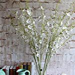 Sundlight-Simulation-Dancing-Lady-Orchid-Flowers-5pcs-Artificial-Flower-Bridal-Decor-White