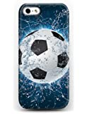 Iphone 5 5S Case - DESIGN with Cool Football for Apple 5 5S