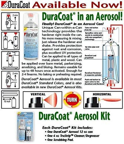 Amazon Duracoat Aerosol Kit Matte Black Sports Outdoors