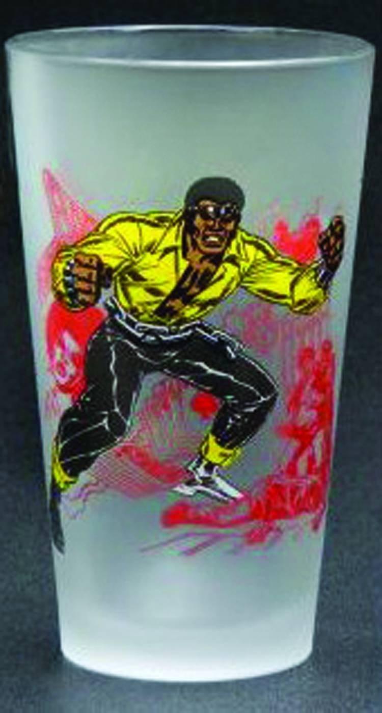 Toon Tumblers Power Man Pint Glass by Diamond