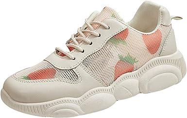 Zapatillas para Mujer Deportivo Verano Plataforma Cuña Merceditas 2019 ZARLLE Zapatos Deportivos de Moda de Primavera y Primavera para Mujer: Amazon.es: Ropa y accesorios
