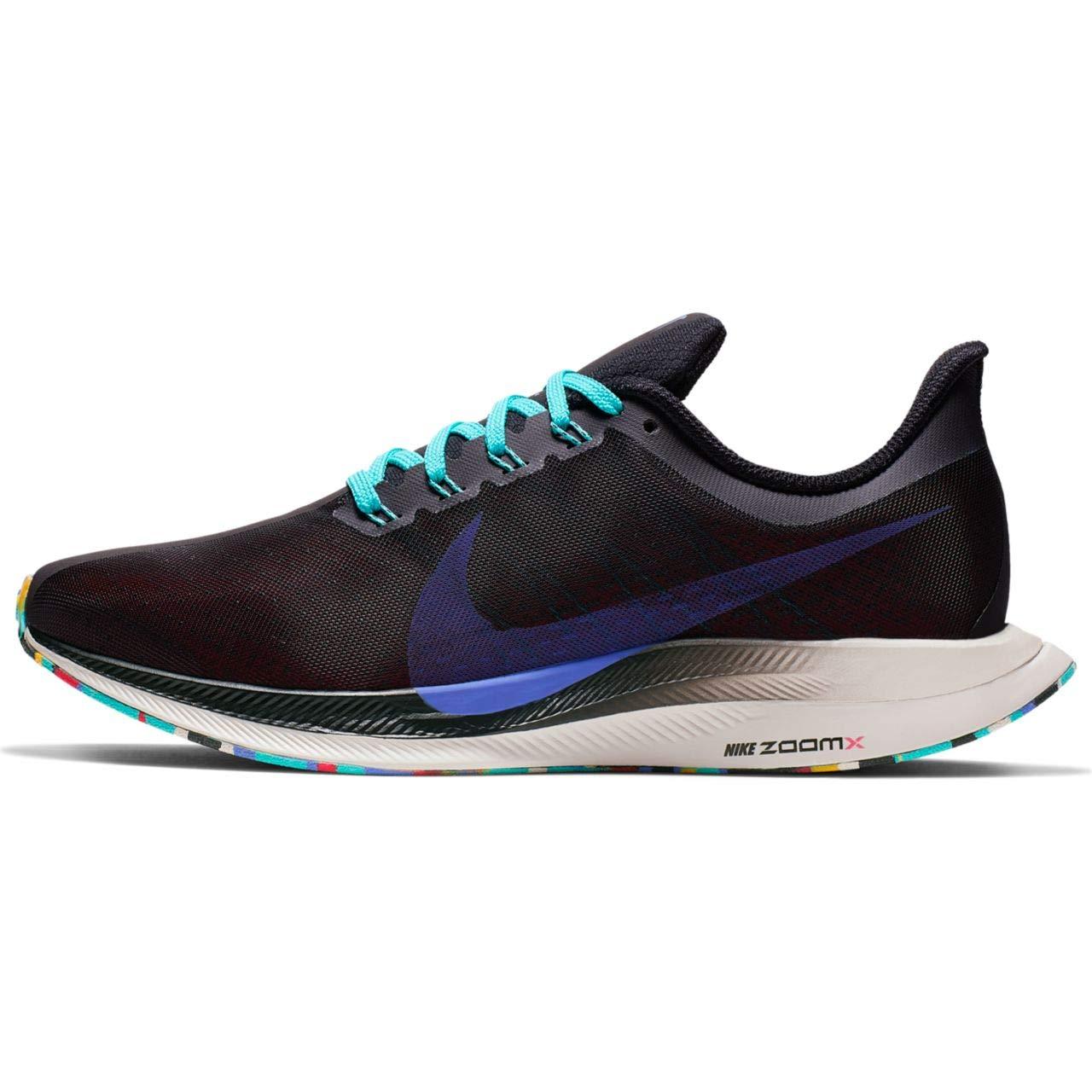 MultiCouleure (noir Sapphire Hyper Jade Ember GFaible 000) 35.5 EU Nike W Zoom Pegasus 35 Turbo, Chaussures d'Athlétisme Femme