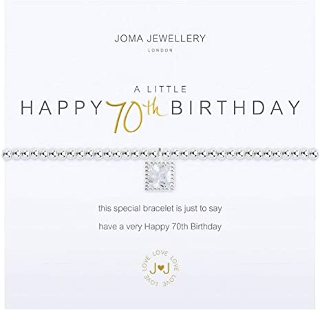 Joma Jewellery Bracelet Silver Plated A Little Limited Edition 10 Years 2018
