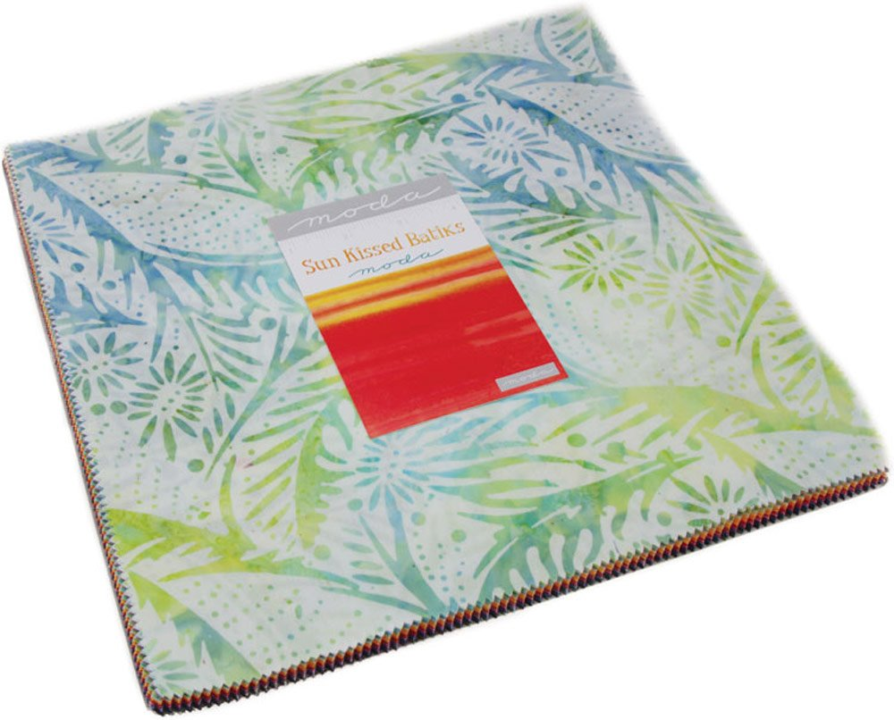 Sun Kissed Batiks Layer Cake 42 10-inch Squares Moda Fabrics 4347LC