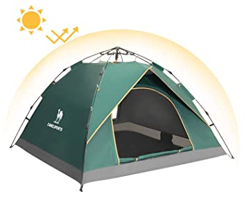 Camel Pop Up Tent Hydraulic UV Beach Tent 2-3 Man Automatic Dome Tents Family  sc 1 st  Amazon UK & Camel Pop Up Tent Hydraulic UV Beach Tent 2-3 Man Automatic Dome ...