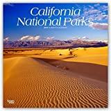 California National Parks 2019 12 x 12 Inch Monthly Square Wall Calendar, USA United States of America Pacific West State Nature