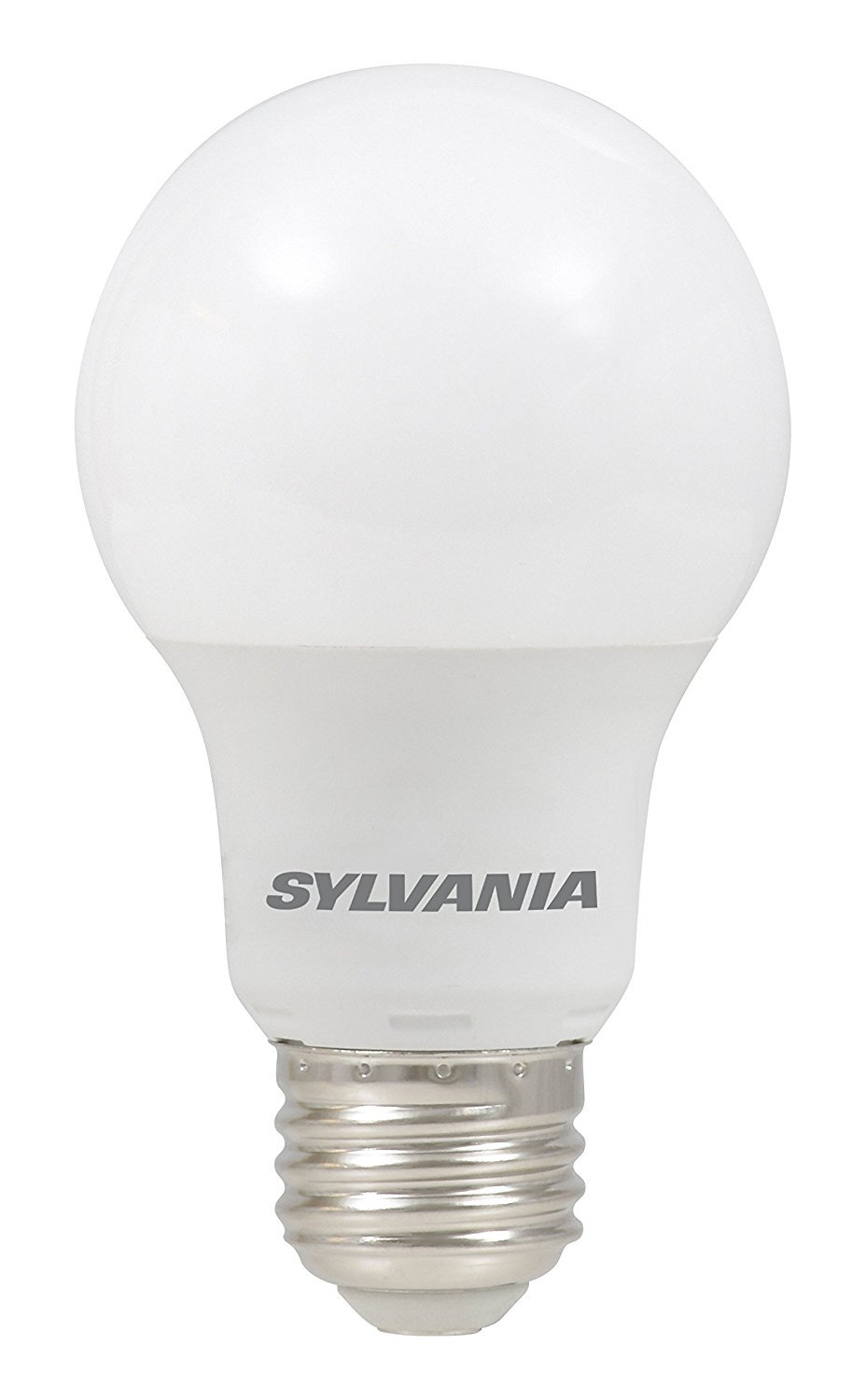 SYLVANIA, 40W Equivalent, LED Light Bulb, A19 Lamp, 1 Pack, Daylight, Energy Saving & Longer Life, Value Line, Medium Base, Efficient 6W, 5000K