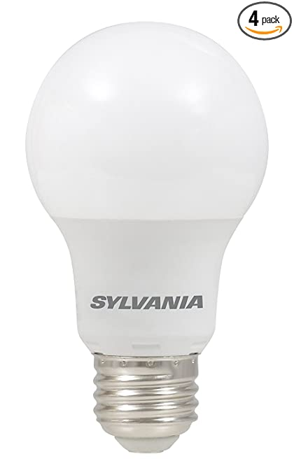 Superior SYLVANIA, 40W Equivalent, LED Light Bulb, A19 Lamp, 4 Pack, Daylight Ideas