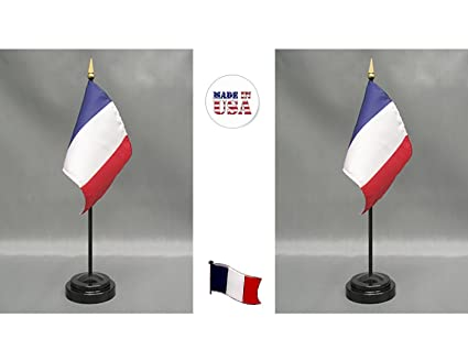 2 France Rayon 4u0026quot;x6u0026quot; Miniature Office Desk U0026