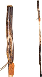 """product image for Brazos 55"""" Free Form Aspen Walking Stick for Men and Women, Made in the USA"""