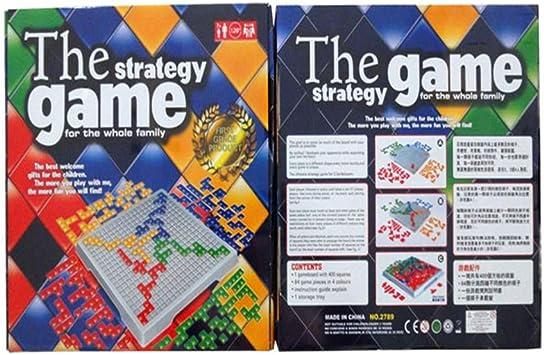 Iu El Juego de Estrategia para 4 Jugadores, Tetris Tablero de Juego (WO8-D1): Amazon.es: Deportes y aire libre