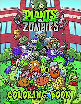 Plants vs Zombies Coloring Book: Funny Plant vs Zombie ...