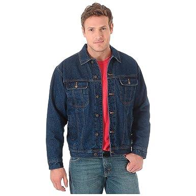 594d9c5a Wrangler Men's Sherpa Lined Denim Jacket at Amazon Men's Clothing store: