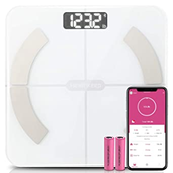 Weighing Scale Smart Body Bluetooth Bathroom Fat BMI Digital Fit Weight Scales