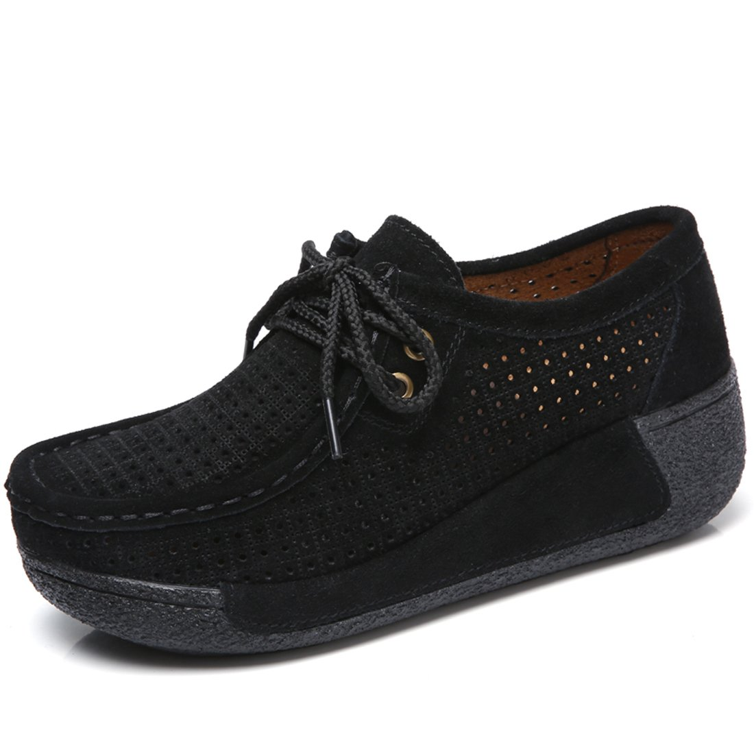 Z.SUO Chaussures Mocassins B07GP1NYJY Femmes Suède Casuel Confort Loafers Chaussures Loafers Noir.1 cda9802 - shopssong.space