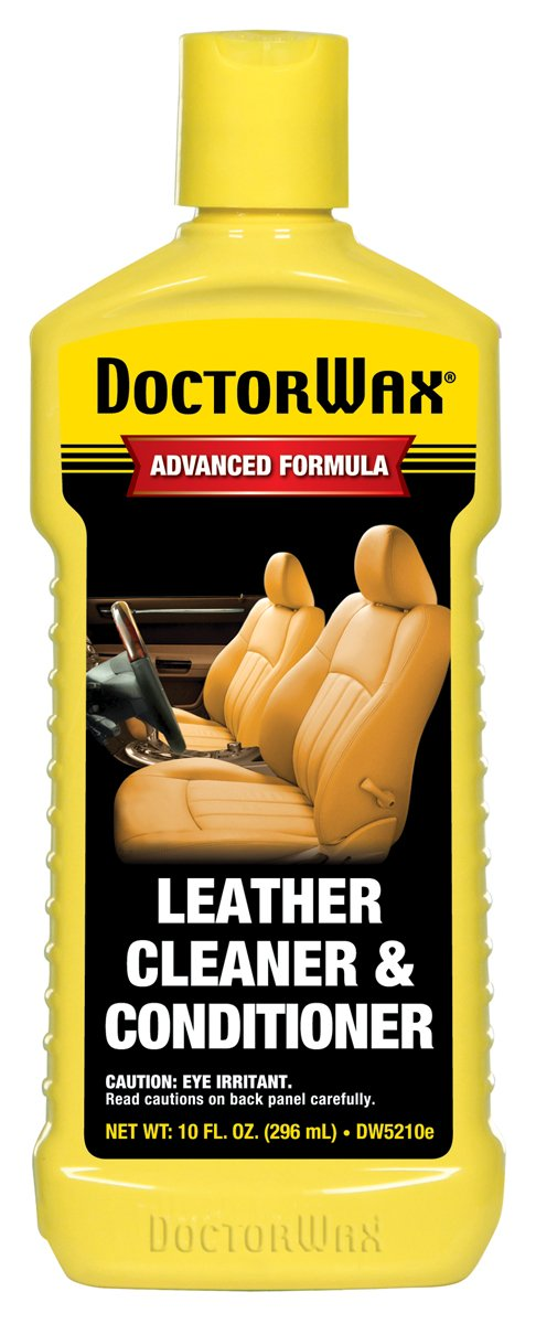 DoctorWax DW5210e Leather Cleaner and Conditioner - 10 fl. oz.