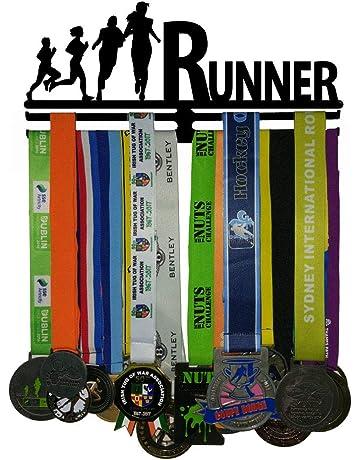 para Jugadores de Voleibol WEBIN Percha para medallas de Voleibol trofeos Soporte para exhibici/ón de medallas Deportivas premios
