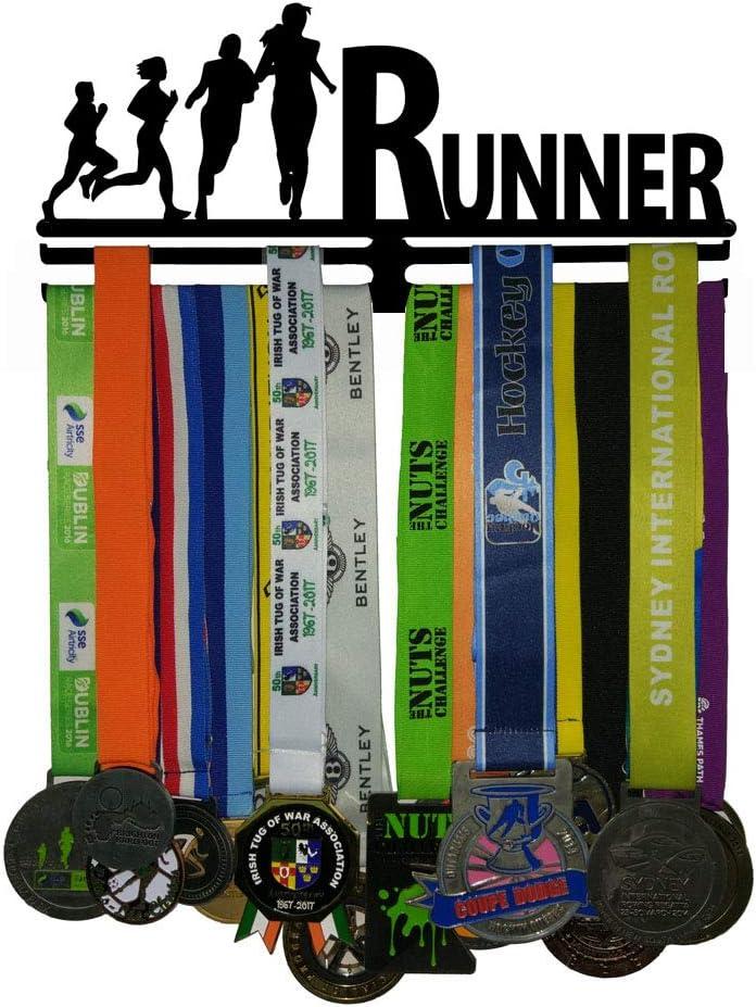 J&X Soporte de Medalla para Deportes Colgador de exhibición ...