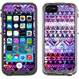 Skin Decal for LifeProof Apple iPhone 5C Case - Aztec Nebula Galaxy Black