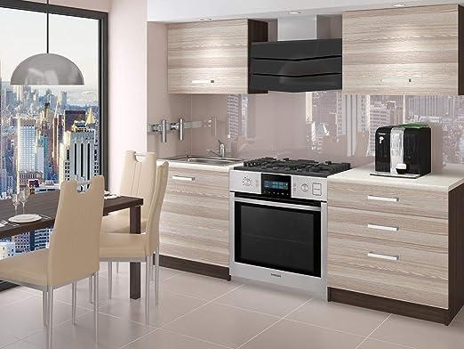 Muebles Cocina Completa, 120 cms, Modulos de cocinas ref-01 ...