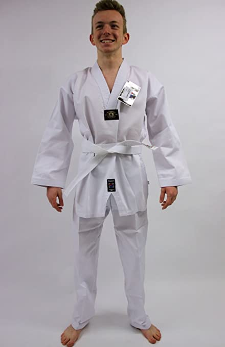 Pro Touch Traje de taekwondo, WEISS: Amazon.es: Deportes y aire libre