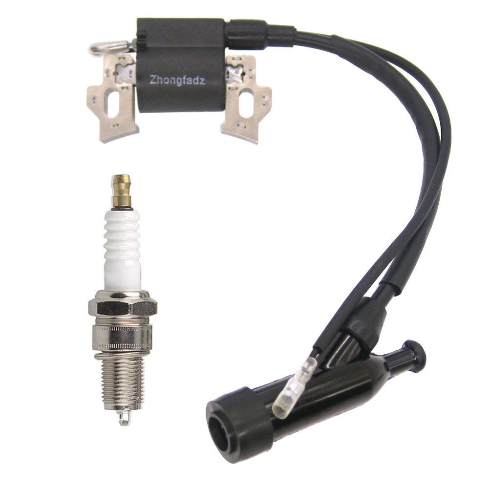 NIMTEK Ignition Coil with Spark Plug For Honda Gx110 Gx120 Gx140 Gx160 Gx200 5.5hp 6.5hp Generator Lawn Mower Part