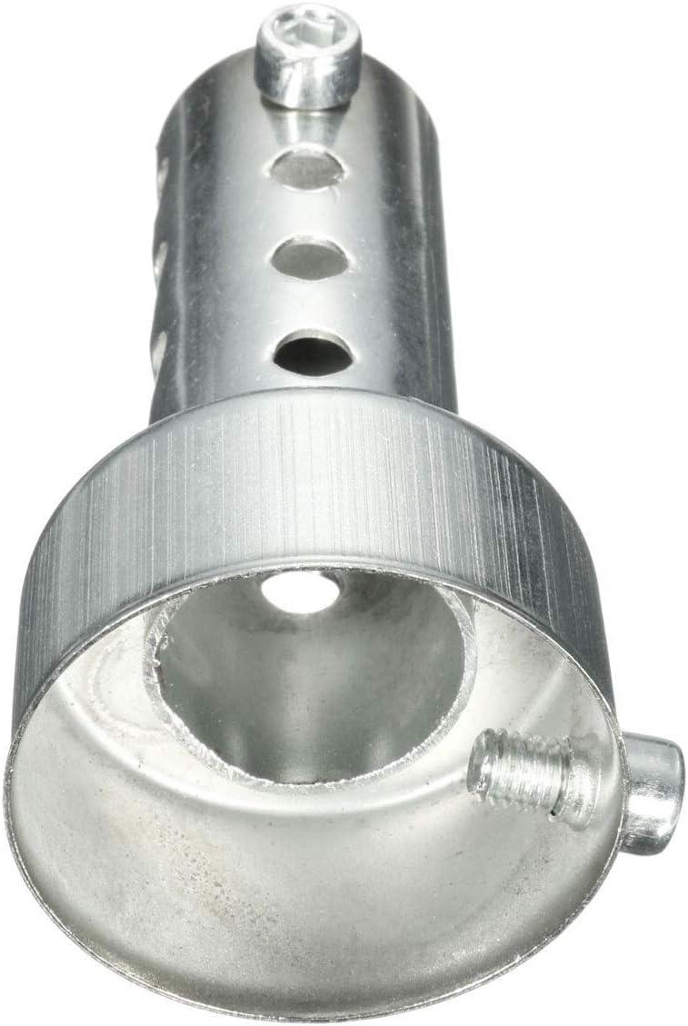 42mm 45mm Moto Can DB-Killer Silencer Bruit Eliminator /échappement r/églable Silencieux Silencieux 35mm Color : Long 35mm 60mm 48mm
