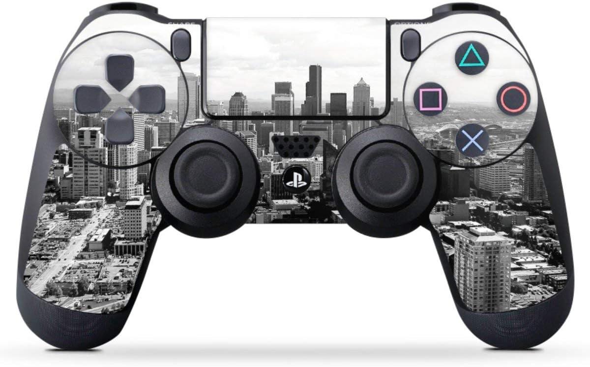 deind esign Sony Playstation 4 Controlador Protector de Pantalla Pegatinas Skin de Vinilo Adhesivo Decorativo Ciudad Silueta: Amazon.es: Electrónica