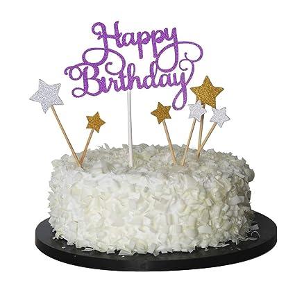 Amazon Sunny ZX Happy Birthday Cake Topper First Birthday