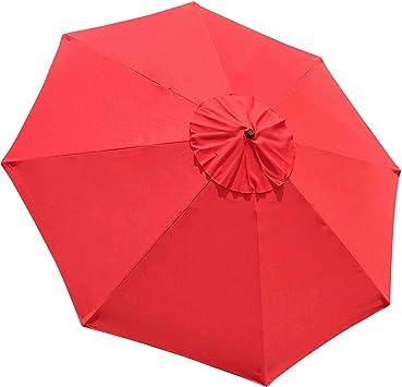 10ft 8 Rib Umbrella Replacement Cover Canopy Patio Outdoor Market Deck Yard Top Amazon Ca Patio Lawn Garden