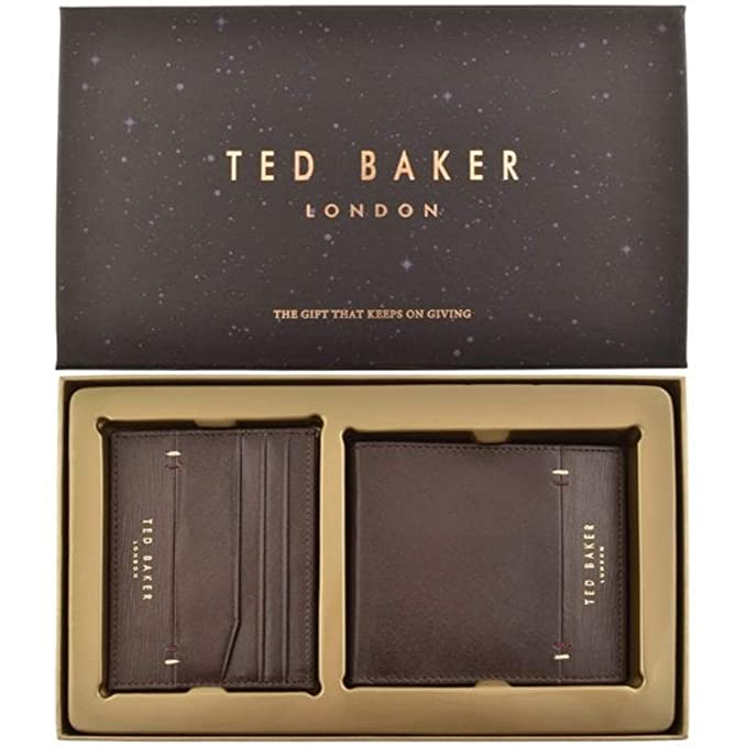 Ted Baker Taglee - Juego de Cartera y Tarjetero (Piel ...