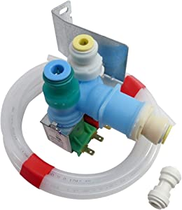 (KS) W10408179 4389177 New Water Inlet Valve Kit Exact Replacement for Whirlpool