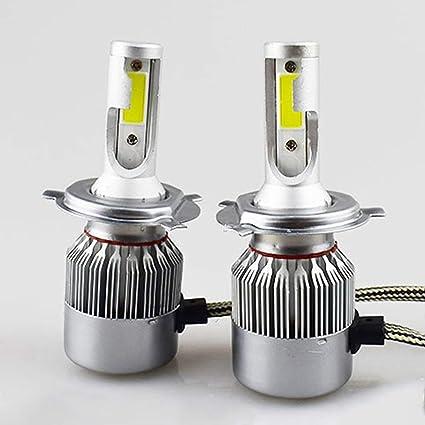 2 Bombillas LED Cree de luz Blanca fría 6000 K 36 W 3800 LM C6 COB