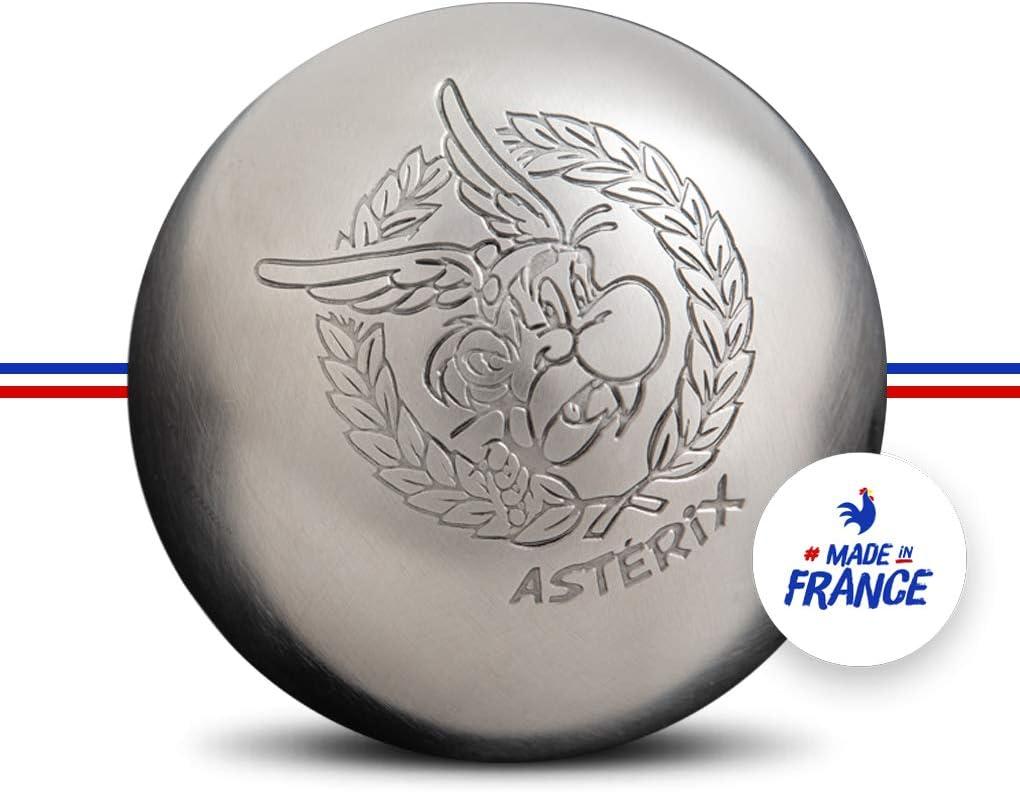 Obut Astérix - Trípode de acero inoxidable para petanca, juego de 60 años