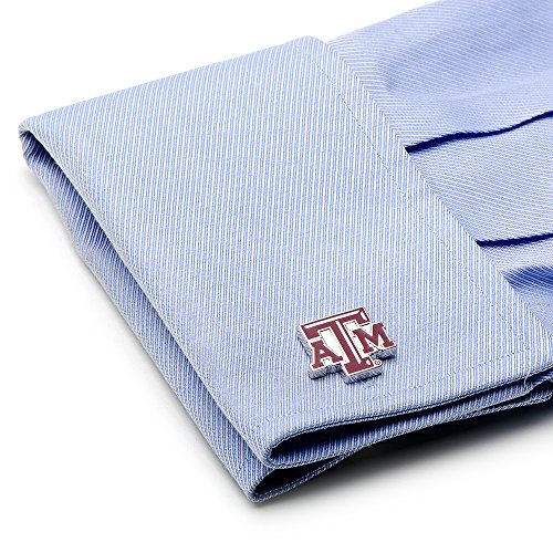 NCAA Mens Texas A & M Aggies 3-Piece Gift Set by Cufflinks