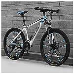617aKDZbniL. SS150 Bicicletta, Bicicletta MTB, 26 Pollici 21 velocità Bicicletta Mountain Bike, Biciclette Sospensioni Anteriori Doppio…