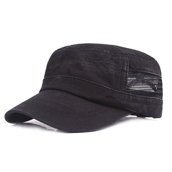 Sombrero de copa plano Ocio Retro Hat Gorra de golf Sombrero de Sol Deporte al Aire Libre Primavera Verano para Unisex Hombre Mujer SVCX4lzio6