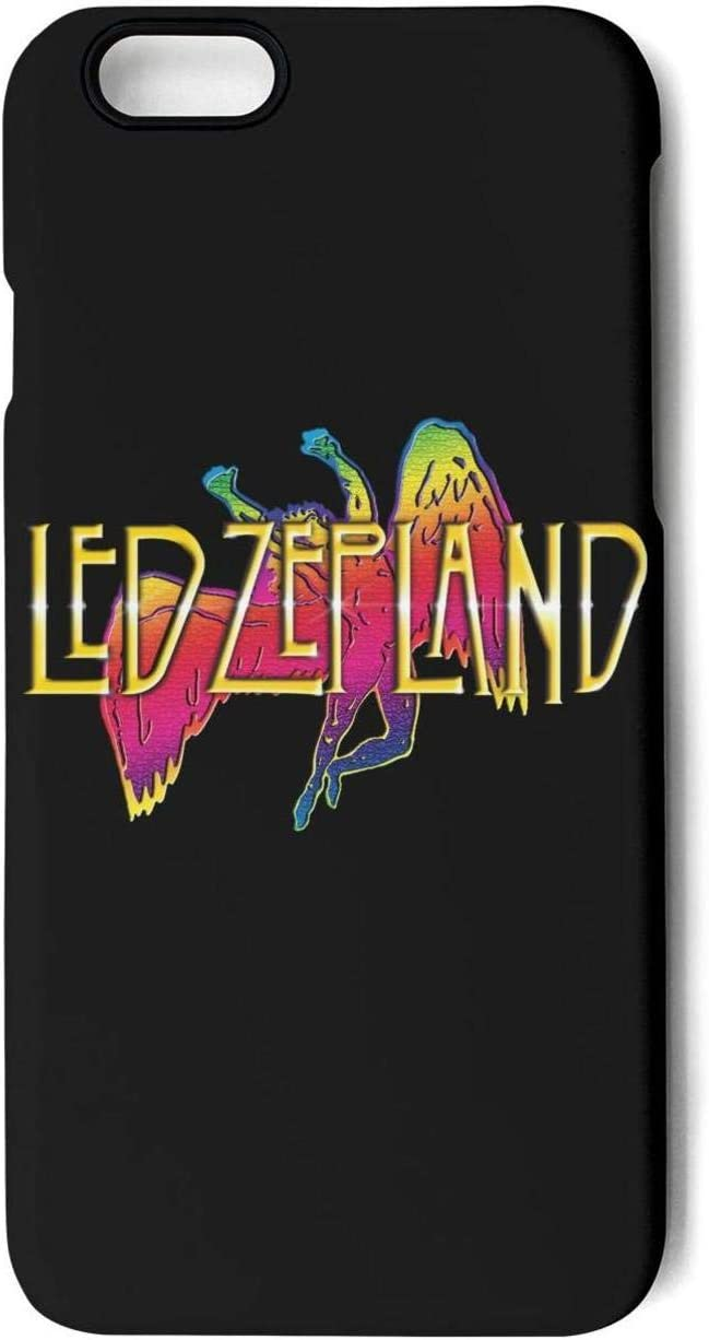 Sphat iPhone 7 8 Coque LED-Zeppelin-Art- Absorption des Chocs TPU ...