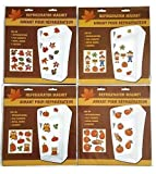 Assorted Fall Themed Refrigerator Magnets