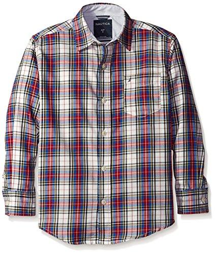 nautica-boys-little-loft-plaid-long-sleeve-woven-shirt-ivory-x-large-7x